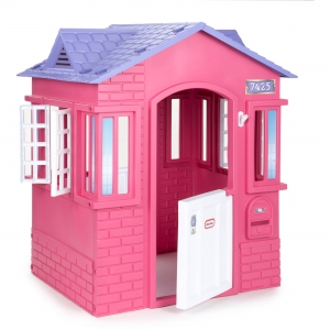 ihocon: Little Tikes Princess Cottage Playhouse, Pink  兒童遊戲屋