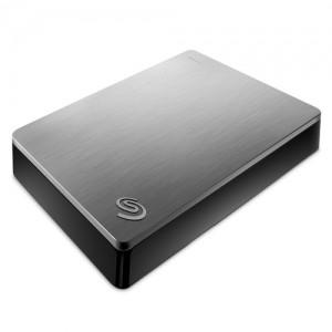 ihocon: Seagate 4TB Backup Plus Portable Hard Drive (Silver) 外接硬碟