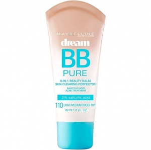 ihocon: Maybelline Dream Pure BB Cream, Light/Medium, 1 Ounce