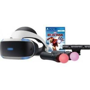 ihocon: PlayStation VR Marvel's Iron Man VR Bundle