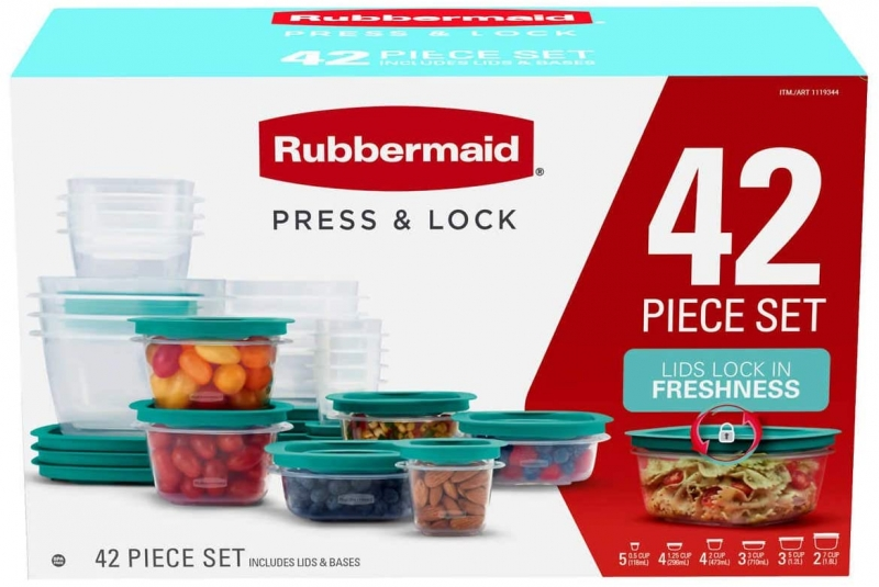 ihocon: Rubbermaid Rubbermaid Food Storage Containers, 42-Piece Set 食物保鮮盒