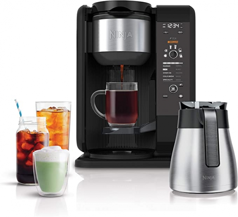 ihocon: Ninja Hot and Cold Brewed System, Auto-iQ Tea and Coffee Maker 冷熱飲(咖啡/茶)沖泡系統