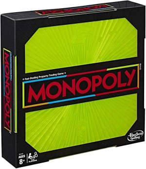 ihocon: Monopoly Neon Pop Board Game for Kids Ages 8 & Up for 2-6 Players大富翁桌遊