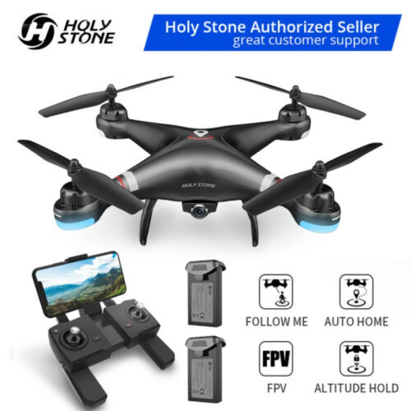 ihocon: Holy Stone HS110G FPV Drones with 1080P HD Video Camera Quadcopter GPS Follow Me空拍機
