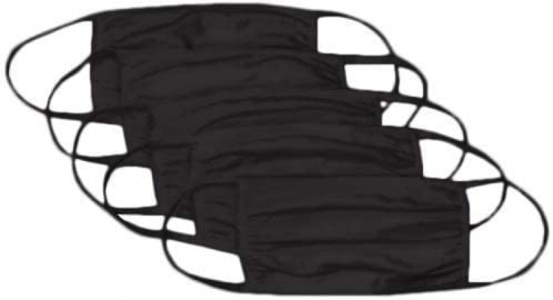 ihocon: Hanes漢斯Reusable Cotton Face Mask (Pack of 50) 可重複使用100%純棉口罩