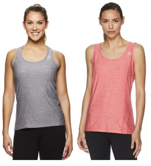 ihocon: Reebok Women's Dynamic Fitted Performance Racerback Tank Top 女士無袖衫-多色可選