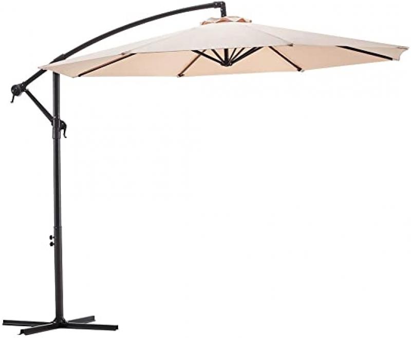 ihocon: Wikiwiki Offset Umbrella 10ft Cantilever Patio Umbrella 遮陽傘