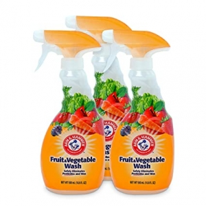 ihocon: Arm & Hammer Fruit & Vegetable Wash,16.9oz Spray, Pack of 3 蔬果清潔劑