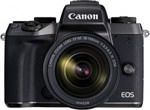 [新低價] Canon EOS M5 無鏡單反+ 18-150mm鏡頭 $599免運(原價$649)