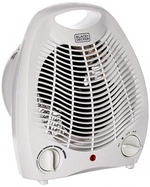 ihocon: BLACK+DECKER BHD101W 1,500-Watt Personal Desktop Heater 小型電暖爐