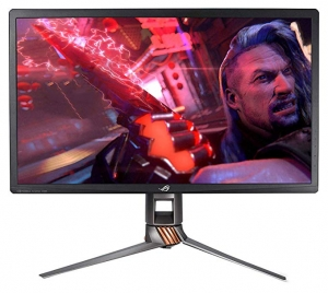 ihocon: Asus ROG Swift PG27UQ 27吋 Gaming Monitor 4K UHD 144Hz DP HDMI G-SYNC HDR Aura Sync with Eye Care 華碩遊戲電腦螢幕