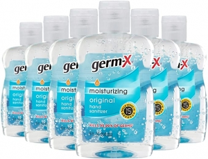 ihocon: Germ-X Original Hand Sanitizer, 8 Fluid Ounce Bottles (Pack of 6)手部消毒液/乾洗手
