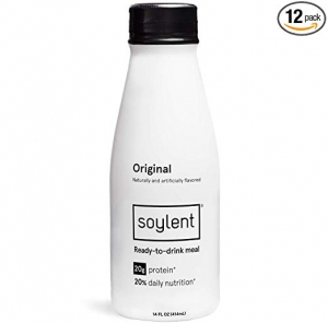 OriginalSoylent Meal Replacement Shake 代餐奶昔 12瓶 $29.25免運(原價$39)