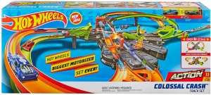 ihocon: Hot Wheels Colossal Crash Track Set 賽車軌道