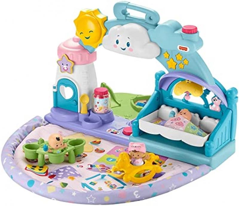 ihocon: 嬰幼兒玩具Fisher-Price Little People 1-2-3 Babies Playdate