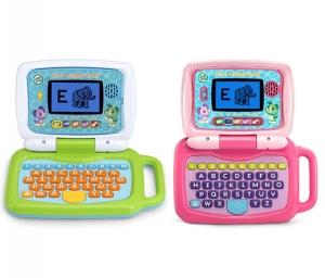 ihocon: LeapFrog 2-in-1 LeapTop Touch,Green 兒童學習機