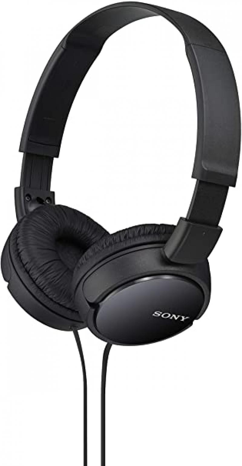 ihocon: Sony MDRZX110/BLK ZX Series Stereo Headphones 立體聲耳機(有線)
