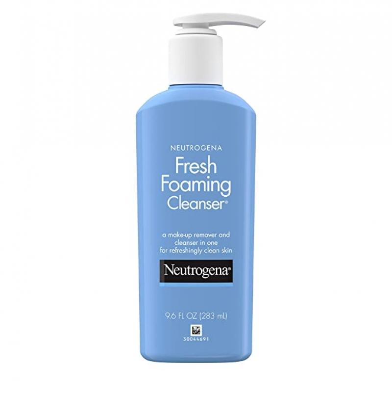ihocon: Neutrogena Fresh Foaming Facial Cleanser & Makeup Remover, 9.6 fl. oz 露得清泡沫洗面乳