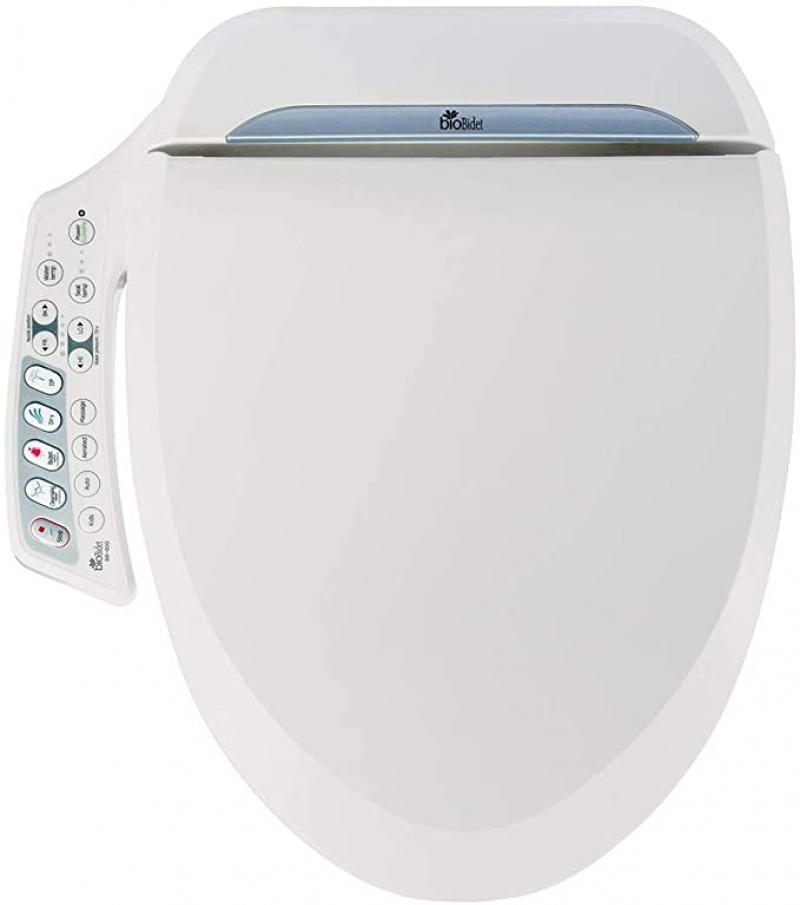 ihocon: Bio Bidet Ultimate BB-600 Advanced Bidet Toilet Seat, Round 免治沖水馬桶座