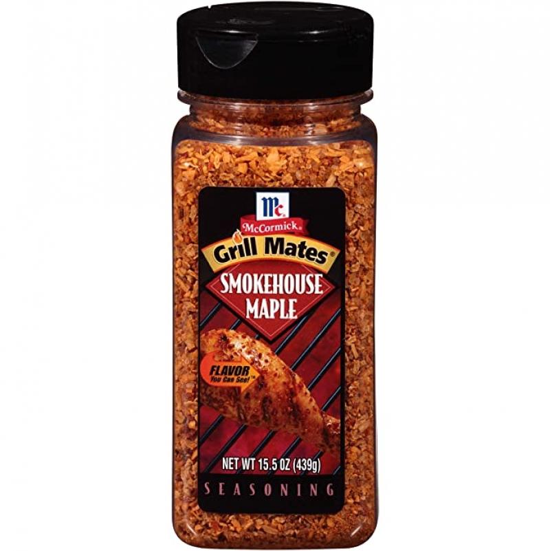 ihocon: McCormick Grill Mates Smokehouse Maple Seasoning, 15.5 oz 調味料
