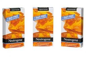 ihocon: Neutrogena Transparent Facial Bar, Unscented Pack, 3.5 OZ, 3 Count (Pack of 6) 露得清無香精洗面皂