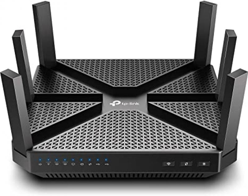 ihocon: TP-Link AC4000 Smart WiFi Tri Band Router with Alexa 三頻路由器