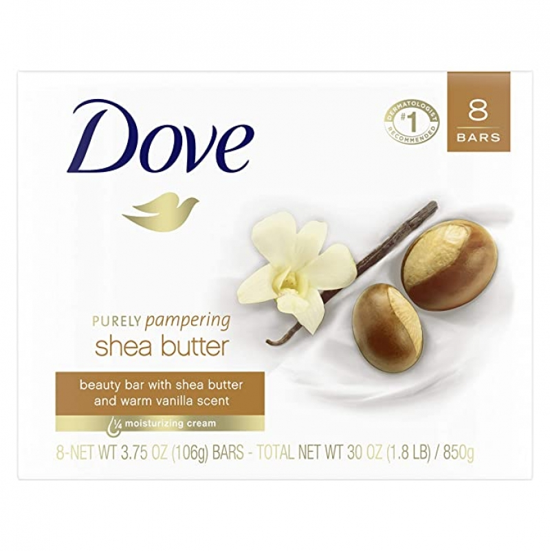 ihocon: Dove Purely Pampering Beauty Bar, 3.75 oz 8 Bars 香皂