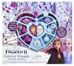 ihocon: Frozen 2 Forever Friends Jewelry 冰雪奇緣串珠項鍊