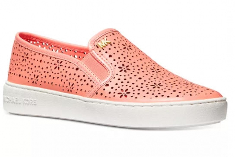 ihocon: MICHAEL Michael Kors Kane Perforated Slip-On Sneakers 女鞋