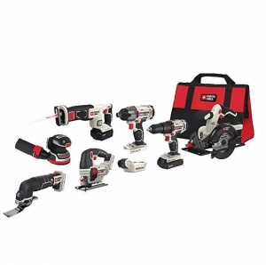 ihocon: PORTER-CABLE 20V MAX Cordless Drill Combo Kit, 8-Tool 無線電動工具組