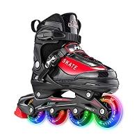 ihocon: Hiboy Adjustable Inline Skates with All Light up Wheels 可調式兒童直排輪輪鞋-多色可選