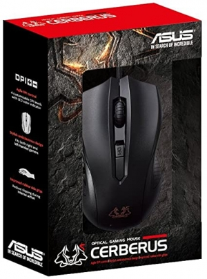 ihocon: ASUS Cerberus Ambidextrous Wired 6-Button Optical Gaming Mouse 華碩線遊戲滑鼠