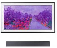 ihocon: Samsung The Frame LS03-Series 55吋 4K Ultra HD 2160p HDR Smart LED HDTV + Samsung HW-NW700 Soundbar