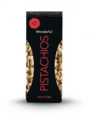 ihocon: Wonderful Pistachios, Sweet Chili Flavor, 14 Ounce Bag 開心果