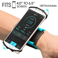 ihocon: VUP 180° Rotatable Wristband Phone Holder可旋轉手機腕帶