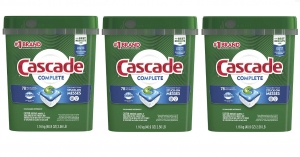 ihocon: Cascade Complete ActionPacs, Dishwasher Detergent, Fresh Scent, 78 count 洗碗機用洗碗劑