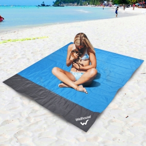 ihocon: Wellhouse Waterproof Beach Blanket Outdoor Portable Picnic Mat Camping Ground Mat Mattress 防水海灘墊