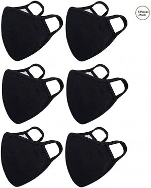 Burlway可重覆使用口罩 6個 $5.82(原價$19.99)
