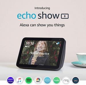 [大減價] Amazon Echo Show 8 特價優惠!! 2個才$99.99免運(原價1個$129.99)