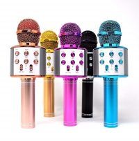 ihocon: Bluetooth Wireless Karaoke Microphone無線卡拉OK麥克風-多色可選
