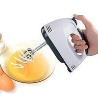 ihocon: Mini Blender 7 Speed Electric Egg Beater Milk Frother Dough Mixer手持電動攪拌機/打蛋器