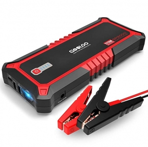 ihocon: Gooloo Upgraded 2000A Peak SuperSafe Car Jump Starter with USB Quick Charge 3.0 汽車起動行動電源
