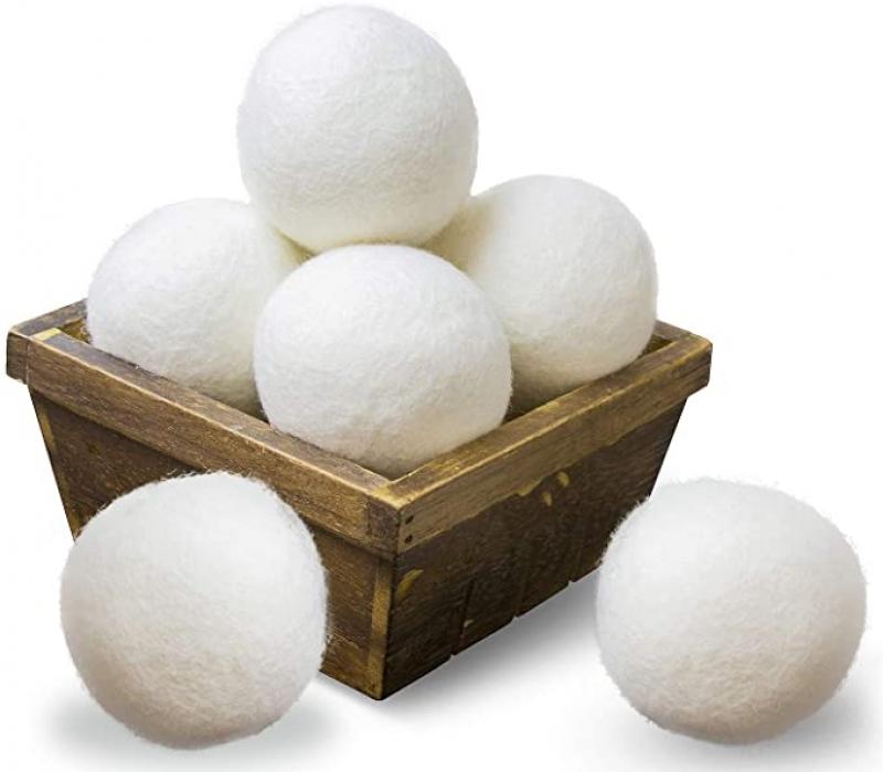 ihocon: SnugPad Wool Dryer Balls XL Size 6 Pack 烘衣羊毛球
