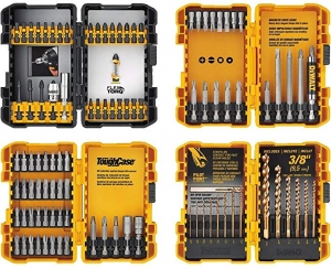 ihocon: DEWALT Screwdriver Bit Set / Drill Bit Set, 100-Piece 螺絲刀頭/鑽頭組