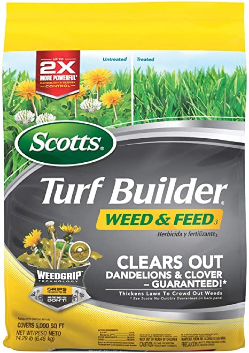 ihocon: Scotts Turf Builder Weed and Feed 3, 5,000 Sq. Ft.