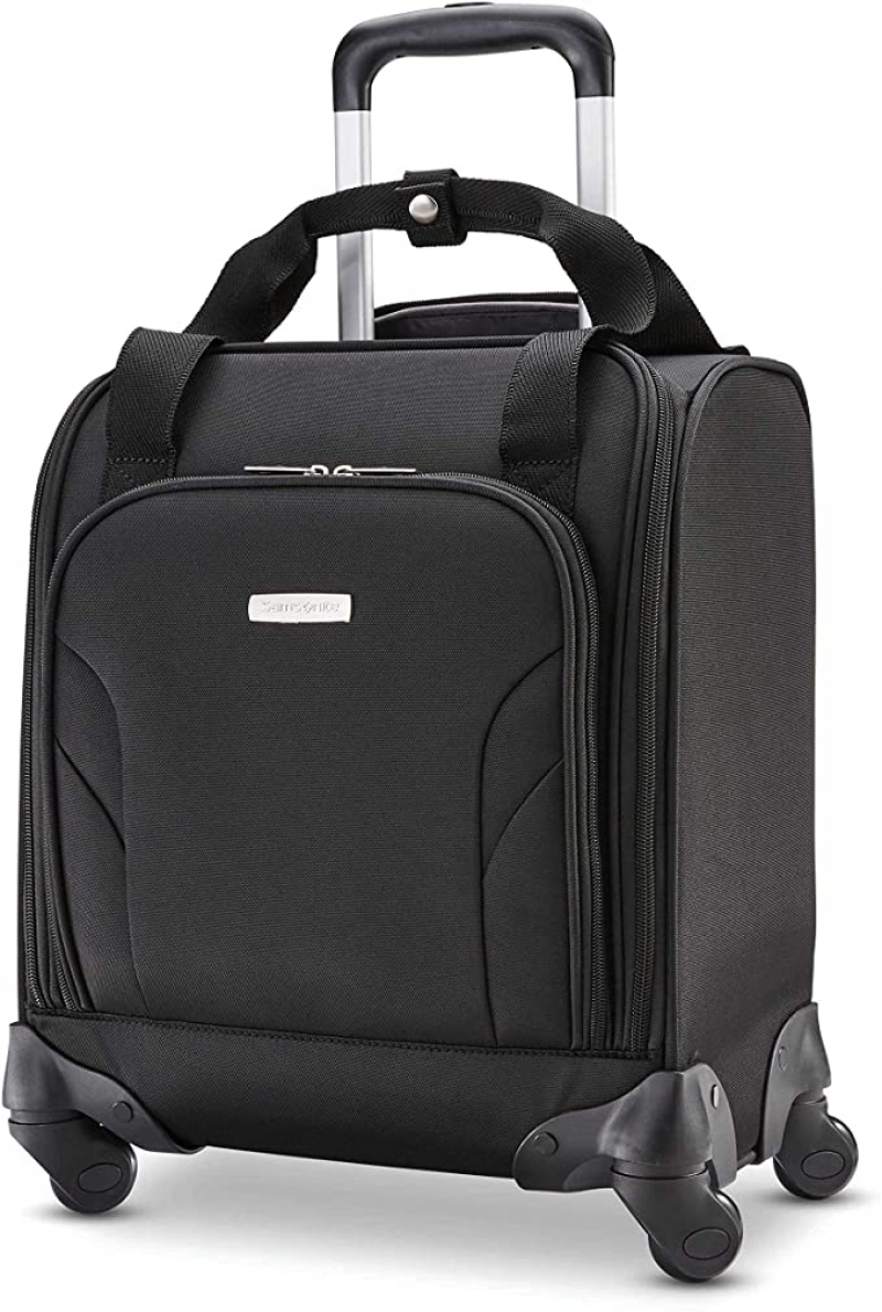 ihocon: Samsonite Underseat Carry-On Spinner With USB Port 手提行李箱