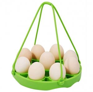 ihocon: PRAMOO Silicone Egg Steamer Rack 矽膠蒸蛋架