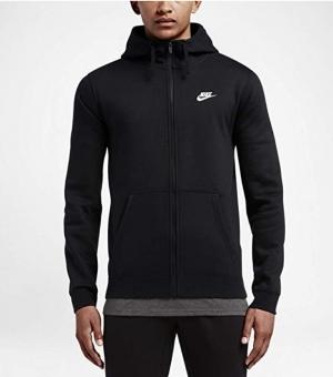ihocon: Men's Nike Sportswear Club Full Zip-Up Hoodie 男士連帽夾克