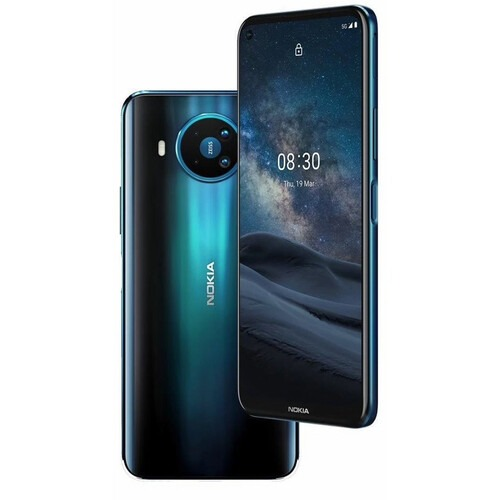 ihocon: [Unlocked無鎖] Nokia 8.3 6.8 128GB Dual Sim 5G GSM Android Smartphone 手機