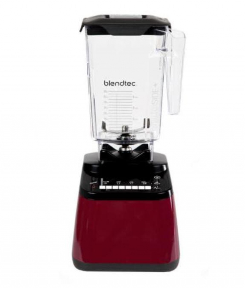 ihocon: Blendtec Designer 650 90 oz. 8-Speed Pomegranate Countertop Blender 食物調理機/破壁機